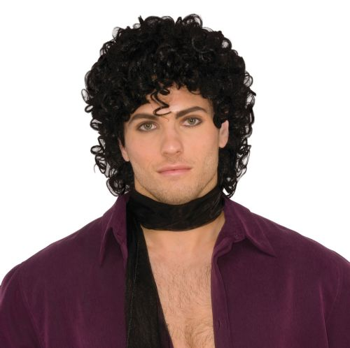 Adults 90s Rock Star Wig 90s Brit Pop Retro Fancy Dress